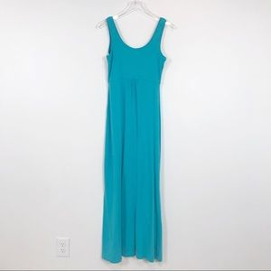 Turquoise Columbia PFG Maxi dress